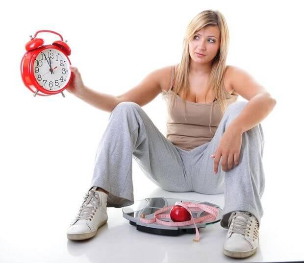 девушка, которая хочет похудеть