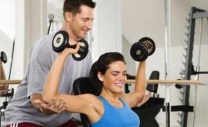 силовая тренировка с тренером