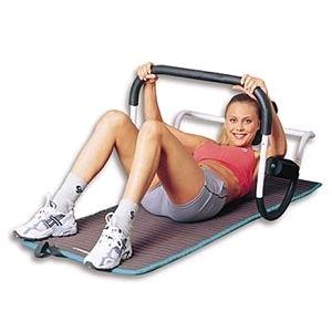 на картинке девушка на тренажере для дома для похудения