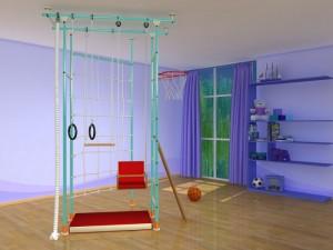 на фото детские тренажеры для дома