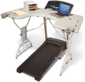 офисный стол с беговой дорожкой
