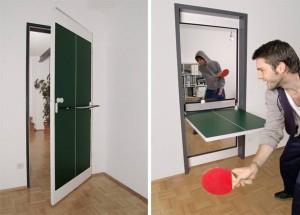 на фото - офисный стол для пинг-понга
