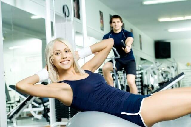 Комплекс упражнений в тренажёрном зале для похудения