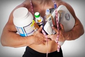 правильное питание спортсменов и пищевые добавки