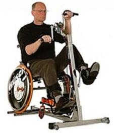 """на изображении тренажер """"манупед"""" для реабилитации после инсульта"""