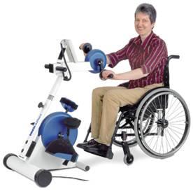 """изображен тренажер """"мотомед"""" для реабилитации после инсульта"""