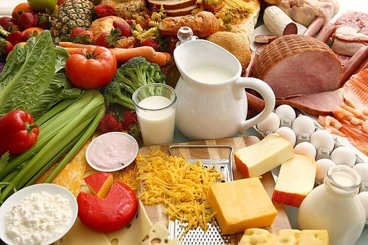 Продукты, содержащие белок, который необходим организму при тренировках