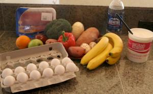 картинка о том, как правильно питаться для набора мышечной массы