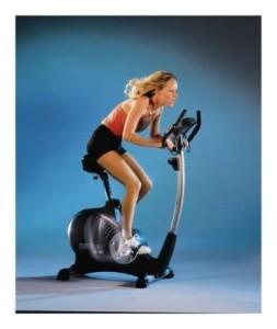 на фото велотренажер для похудения