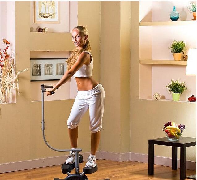 Удобство занятий на тренажере Кардио Твистер в домашних условиях