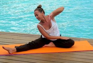 йога и водные процедуры