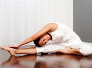 йога упражнения на растяжку