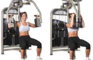 как правильно выполнять упражнение разведение рук в тренажере