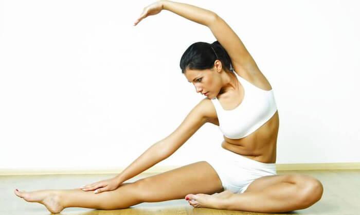 Занятия йоги