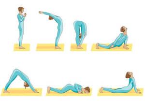 Упражнения йоги для спины