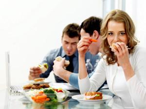 Обед должен включать 35 – 40% дневного рациона