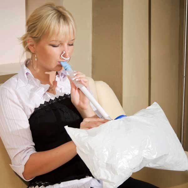 дыхательный тренажер для похудения