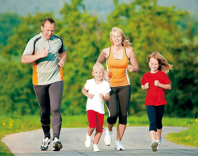 формирование здорового образа жизни следует начинать в семье и на собственном примере