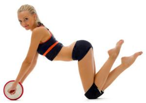 гимнастический ролик для спины и пресса