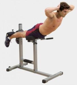 упражнения на тренажере для дома для спины гиперэкстензия