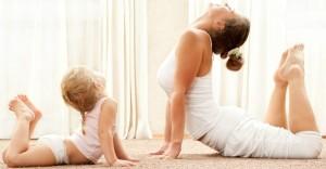 йога дома упражнения