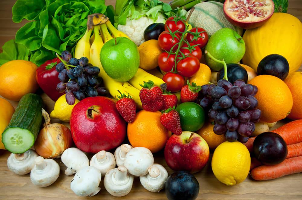 Овощи и фрукты для нормальной работы желудочно-кишечного тракта после 50-ти лет