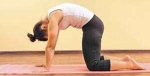 упражнения для спины йога