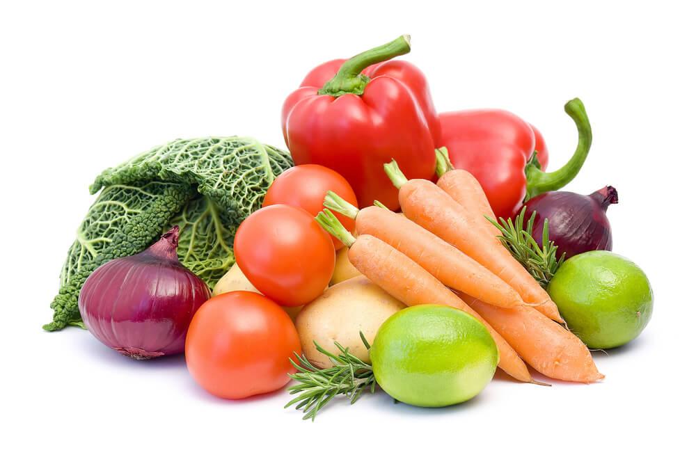 Овощной день диеты