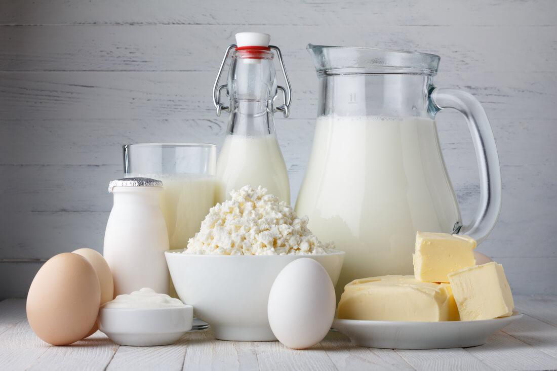 Молочные продукты на третий день диеты