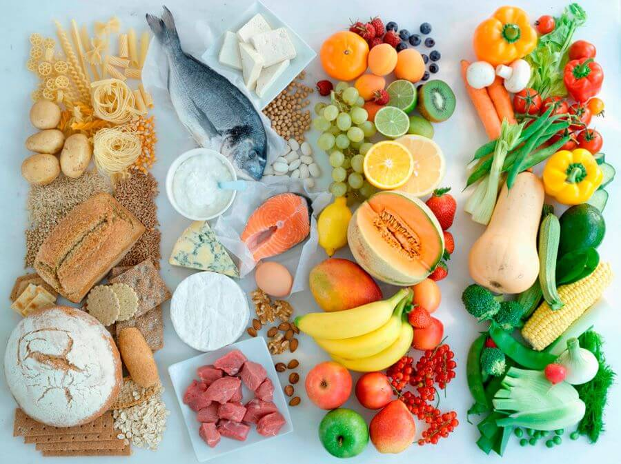 принцип раздельного питания для похудения таблица