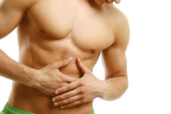 Проблемы с ЖКТ - одна из причин плохого набора веса у мужчин