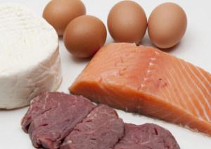 Продукты, содержащие белок, необходимый для набора веса