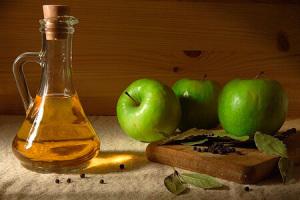 Применение яблочного уксуса для обертывания