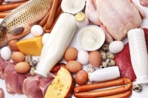 Белковая пища, входящая в рацион питания спортсменов