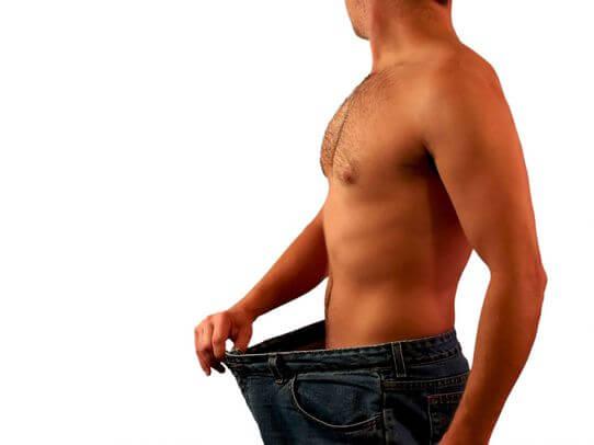 Недостаточная масса тела у мужчин