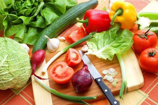 Свежие овощи – основа диеты Протасова