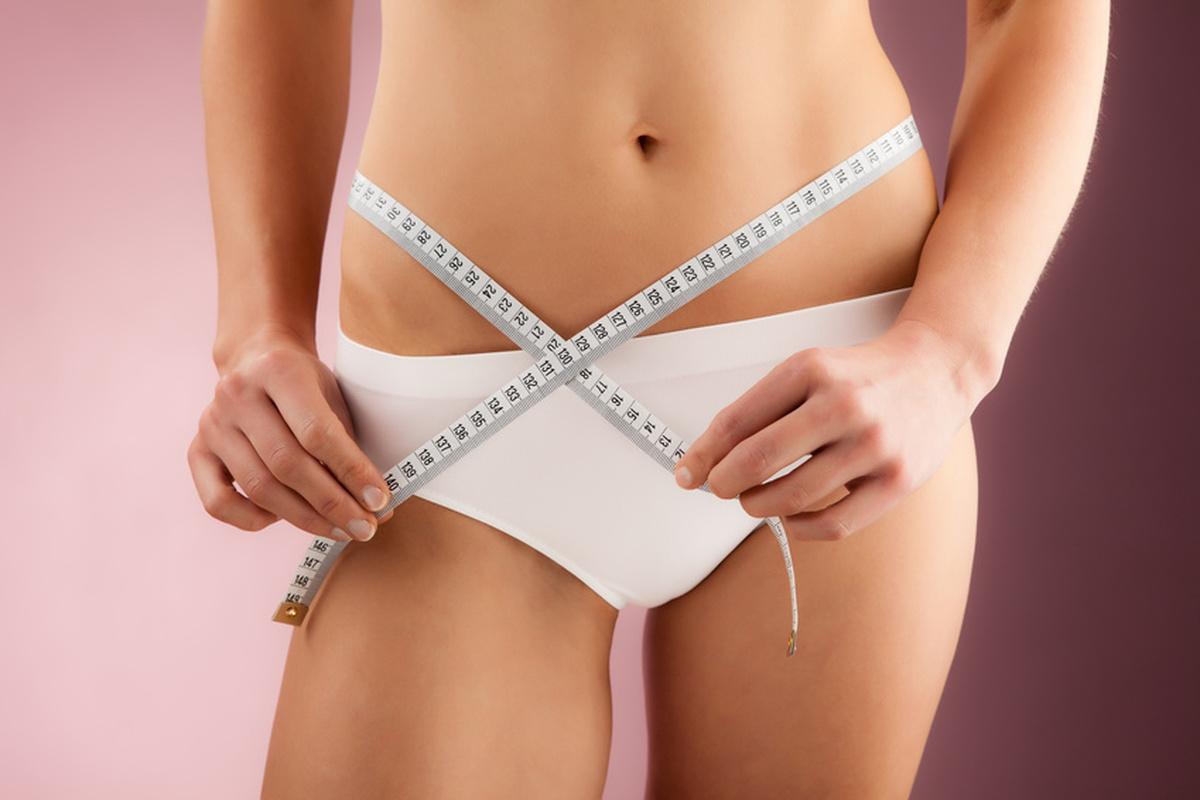 жир в области живота боков