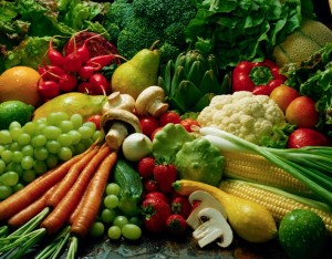 Употребление овощей во время чайной диеты