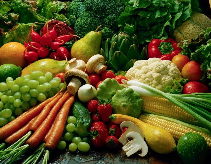 Овощи, содержащие малое количество калорий