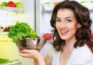 худеем на овощных салатах