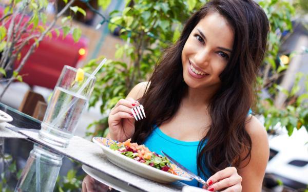 употребление малокалорийной пищи для похудения