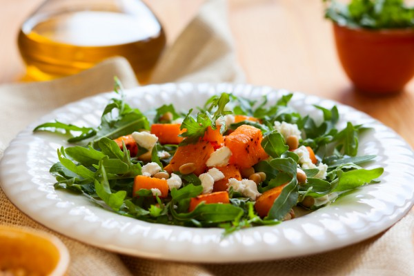 Тыквенный овощной салат для похудения