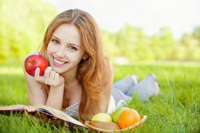 Здоровый организм благодаря правильному подсчету калорийности блюд