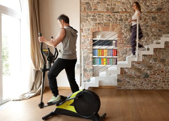 польза занятий на домашних тренажерах